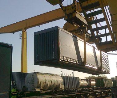 caisse mobile rideaux coulissants 45 ft combiné intermodal location MODALIS