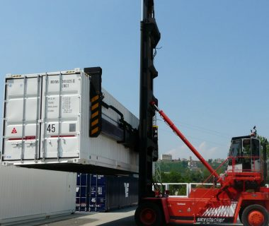 location caisse mobile conteneur 45 ft palettisable MODALIS intermodal combiné
