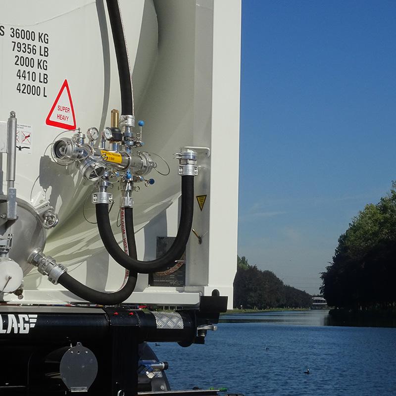 silo-conteneur 30 ft 40 ft 20 ft vrac sec location MODALIS