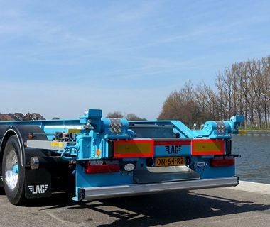 châssis basculants 40 ft silo-conteneur caisse mobile conteneur vrac intermodal combiné MODALIS