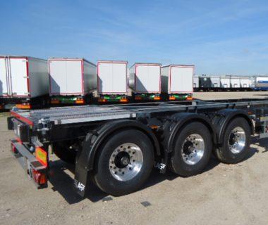 châssis porte conteneur 30 ft ADR location MODALIS citerne silo conteneur vrac accès sécurisé