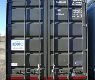 location caisse mobile conteneur MODALIS intermodal combiné