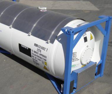 citerne 20 ft ISO T50 gaz location MODALIS