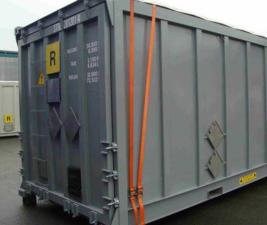 conteneur bulk vrac sec open top location MODALIS