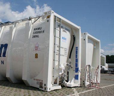 silo conteneur cubique location MODALIS pressurisable compressible