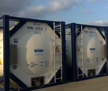 citerne 20 ft ISO liquides MODALIS location