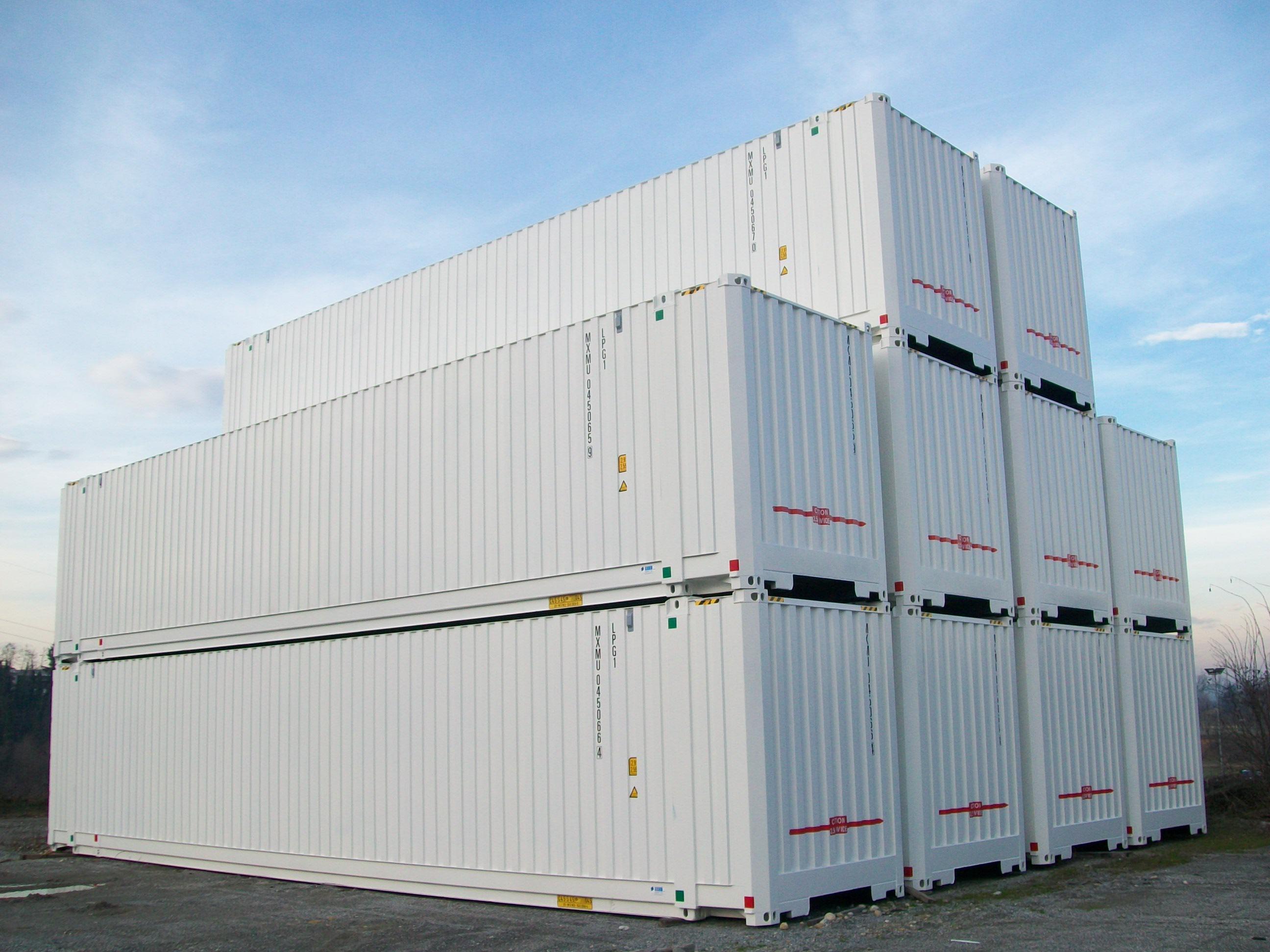 caisse mobile 45 ft location MODALIS palettisable