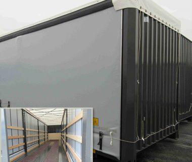 location MODALIS caisse mobile rideaux coulissants intermodal combiné transport